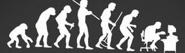Ascent of Man Cartoon