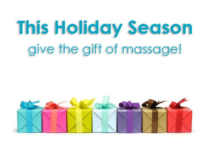 give a massage!